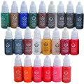 6 Бутылка Перманентный Татуаж Чернила Для Бровей и Губ Makeup-20 Цвет Выбрать Татуировки Пигмент Для Малых Дизайн Бесплатно доставка