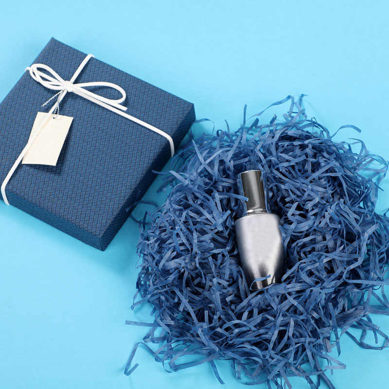 10g per sacchetto FAI DA TE di Carta Rafia Tagliuzzato Coriandoli Regalo Di Natale Scatola di Materiale di Riempimento Da Sposa Matrimonio Complementi Arredo Casa Decorazione 62456