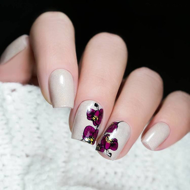 Online Shop BORN PRETTY Geometrical Nail Stamping Template London ...