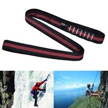 60cm Reinforce Rope belt Polyester rock Climbing Sling Bearing Strap