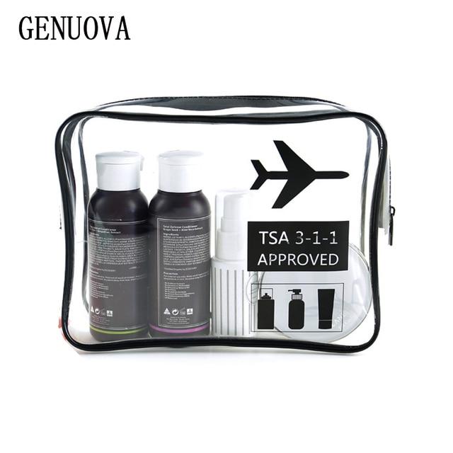 Дорожные упаковочные органайзеры прозрачный косметический пакет Многоцелевая сумка водостойкая Портативная сумка для мытья большой емкости аксессуары