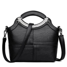 GALGALY handbag women casual tote bag brand design female solid boston small shoulder messenger bags chain clutch purse 2019