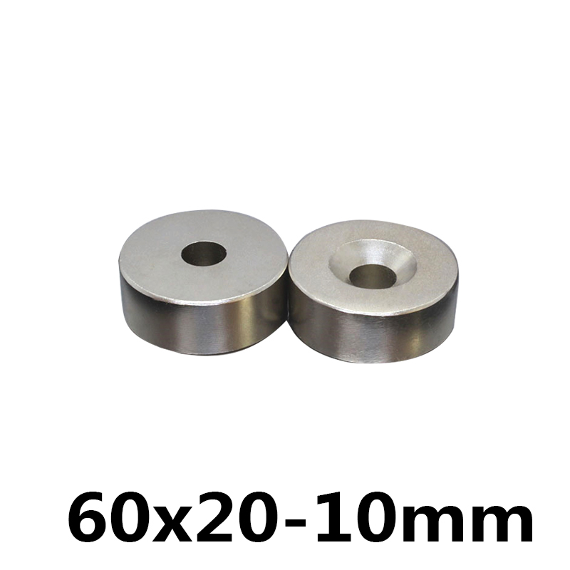 1 pcs 60*20 NdFeB Lifting Ring Magnet Dia. 60x20 mm with M10 Screw Countersunk Hole 10 mm Neodymium Rare Earth Permanent Magnet1 pcs 60*20 NdFeB Lifting Ring Magnet Dia. 60x20 mm with M10 Screw Countersunk Hole 10 mm Neodymium Rare Earth Permanent Magnet