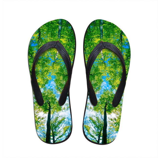 093342c4ee2451 New Arrival Men Shoes Unique Fire Print Beach Flip Flops Anti-slip Casual  Flat Sandals