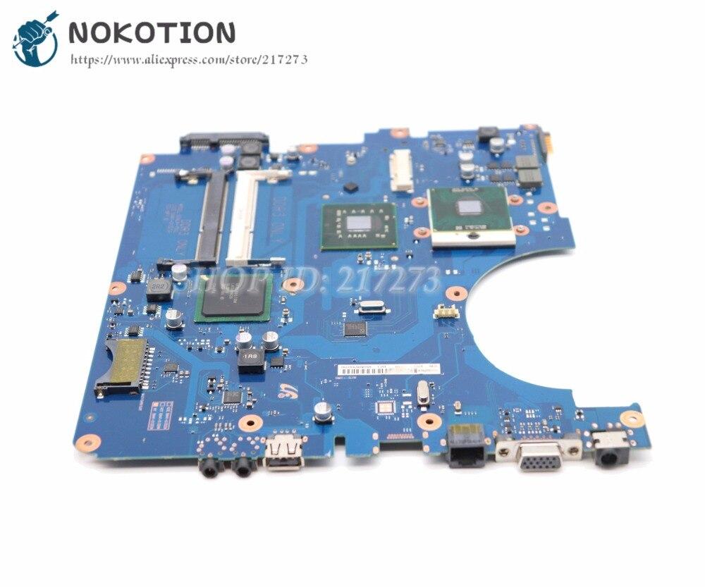 NOKOTION pour Samsung RV510 ordinateur portable carte mère BA92-06564A BA92-06564B GL40 DDR3 CPU gratuit