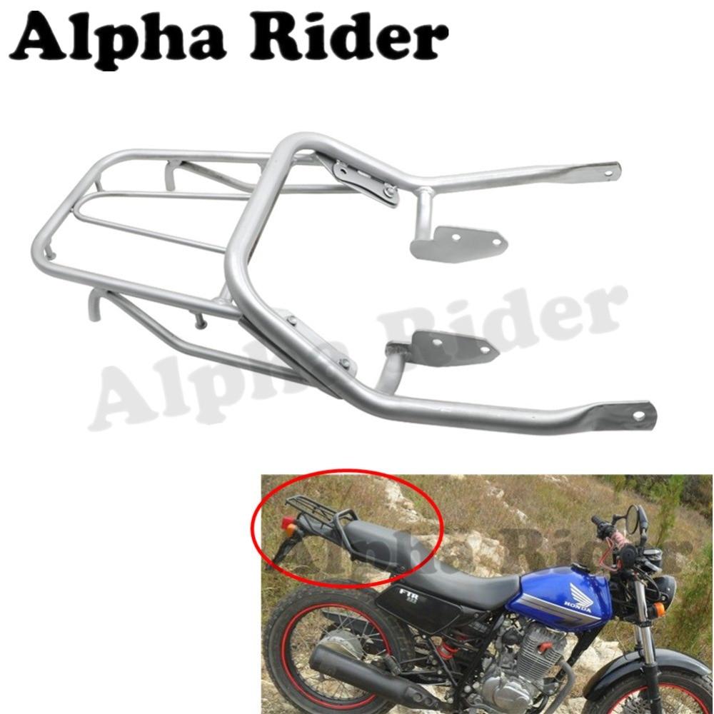 Motorcycle Rear Luggage Rack Support Tool Box Holder Saddlebag Cargo Shelf Steel Bracket for Honda FTR223 FTR 223 Street Bike