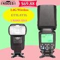 INSEESI EN 560 V Inalámbrico 2.4G TTL HSS 1/8000 S Flash Speedlite para nikon canon vs yongnuo yn565ex yn685 yn-560 yn-565ex iv 2.el mk910