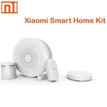 オリジナル xiaomi スマートホームキットゲートウェイ 3 ドア窓センサー人体センサーワイヤレススイッチ多機能スマートデバイスセット