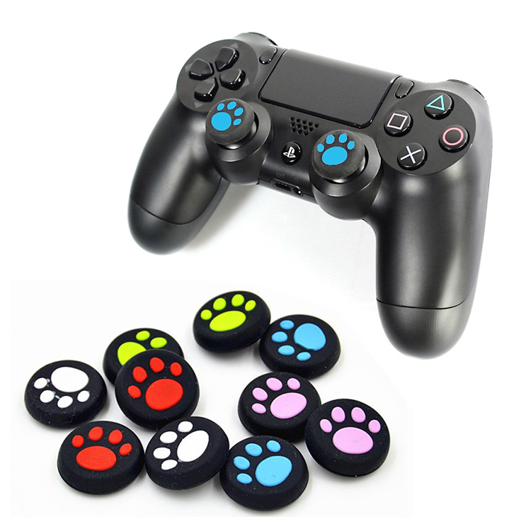 2pcs Silicone Catlike Joystick Thumb Stick Grip Cap For PS3 PS4 Xbox One/360  QJY99