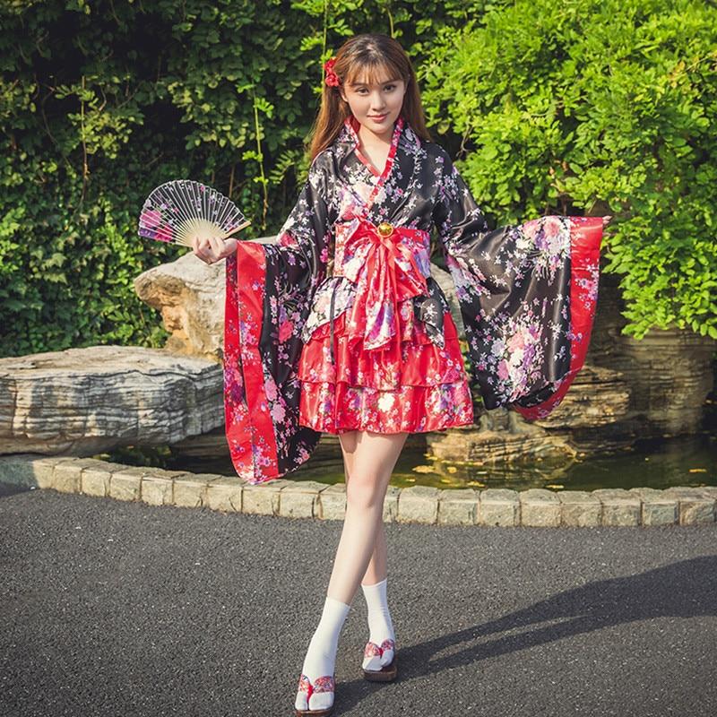 Кимоно в новом стиле японское кимоно с оригинальными цветами