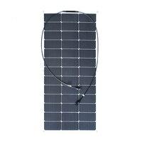 Xingpugaung 19,5 В 100 Вт Панели солнечные гибкий день 4 солнечных батарей 12 В Системы DIY Kit автомобиля RV дома питание Painel Панели солнечные s клетки