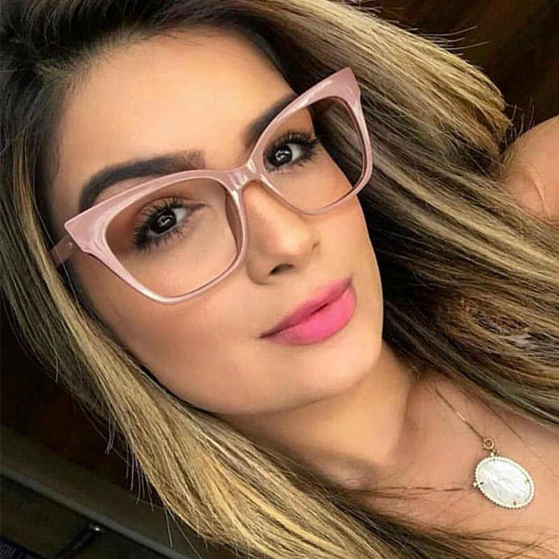 b2bec4c40f26 Woman Acetate Optical Eyeglasses Fashion Frame Spectacles for Women  Prescription Eyewear Glasses Frame Stylish High Quality