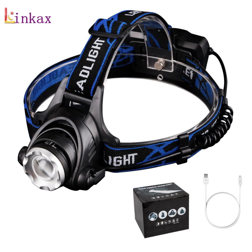 Led Headlamp Lantern XML L2 5000LM Head Lamp Flashlight Torch T6 Headlight Lanterna Headlamps Flashlights use 18650 Battery 5000 lumens led headlamp xml t6 l2 led headlight lantern 4 mode waterproof head flashlight torch 18650 rechargeable battery
