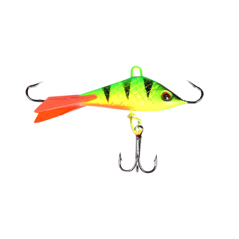 1PC 7.5g50mm Metal Ice Lure Balance Balancer For Winter Fishing Crankbait Artificial Hard Bait For Pike Perch Tackle Accessories