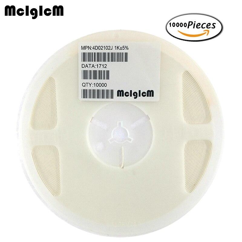 MCIGICM 10000pcs SMD exclusion 0402 8P4R 2 4P Network Resistor array 0 ohm 910 ohm 1K