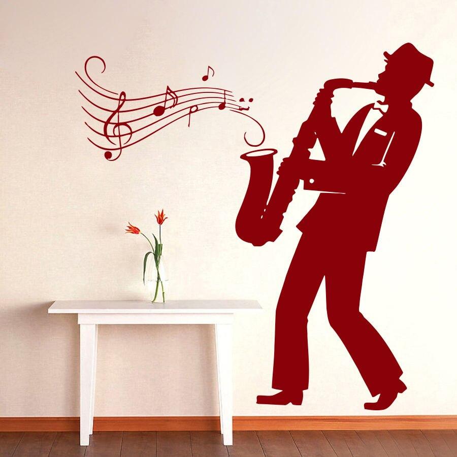 Classic Portrait Wall Poster Saxophone