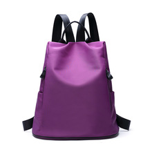 Waterproof Lightweight Nylon Bookbags Backpacks School Bag for Girl Teenagers High School Backpack Women's Casual Daypacks Black