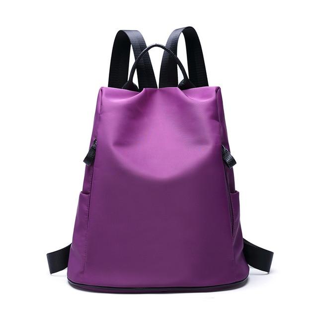 755050ae38 Waterproof Lightweight Nylon Bookbags Backpacks School Bag for Girl  Teenagers High School Backpack Women s Casual Daypacks Black