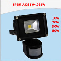 12pcs 30W Human Body Induction Flood Light Warm Cool Led PIR Motiom Sensor Detective Floodlight Outdoor