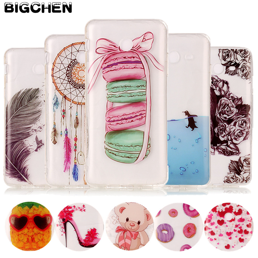 High Quality IMD Phone Cases For Samsung J3 J5 J7 2017 US Version Soft TPU Silicon Fashion Glossy Cases Back Covers