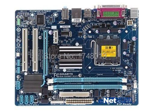 Livraison gratuite origine carte mère pour gigabyte GA-G41MT-S2PT LGA 775 DDR3 G41MT-S2PT de bureau carte mère