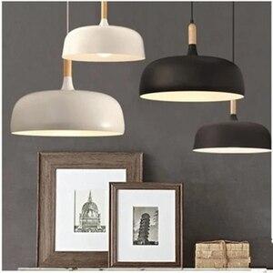 Image 2 - LukLoy ไม้ห้องครัวโมเดิร์นจี้ไฟ LED ไฟห้องครัวโคมไฟ LED โคมไฟแขวนเพดานโคมไฟห้องนั่งเล่นโคมไฟติดตั้ง