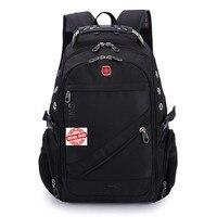 SWISSWIN suissewin швейцарский армейский 8810 2017 качество Водонепроницаемый нейлоновый рюкзак передач 17 дюймов ноутбук рюкзак мешок DOS Для мужчин рюк...