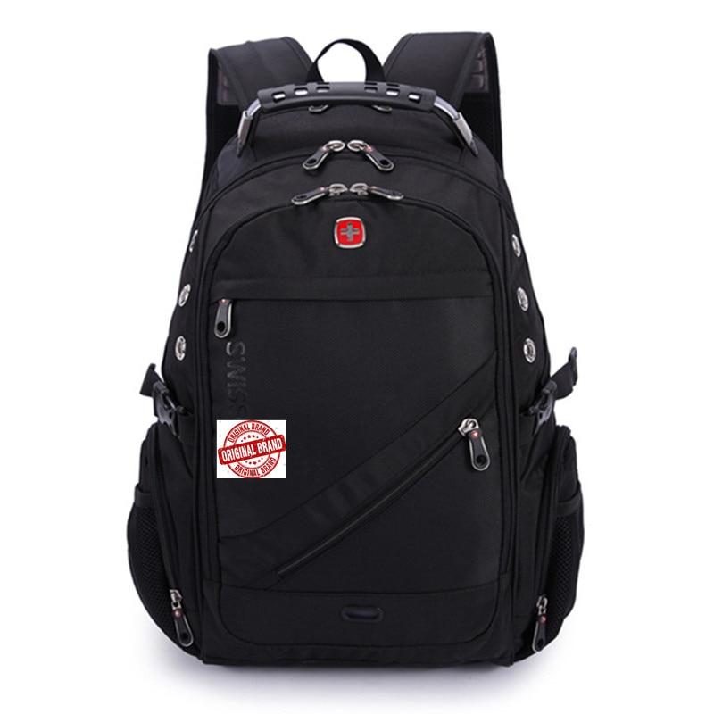 swisswin suissewin swiss army 8810 2017 Quality Waterproof Nylon Backpack gear 17 inch Laptop Backpack Sac