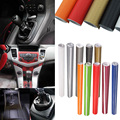 127cm x 30cm DIY 3D Carbon Fiber Wrap Roll Sticker Decor for Car Auto 11 Colors Hot Sale