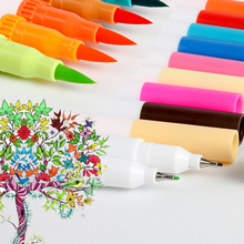 Dual Tip Marker Pens 100 Colors Magicfly Watercolor Dual Brush Pen with Fineliner Tip 0.4 and Highlighters Brush Tip Marker