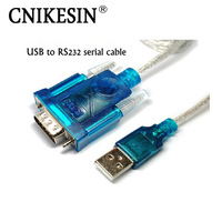 CNIKESIN HL-340 New USB to RS232 COM Port Serial PDA 9 pin DB9 Cable Adapter support Windows7-64
