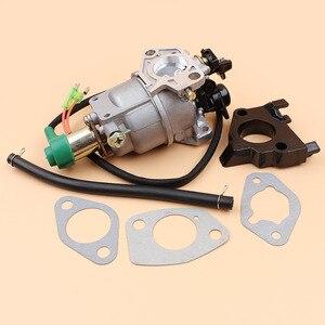 Image 4 - Генератор карбюратор соленоидная прокладка комплект для HONDA GX340 GX390 188F 5 кВт 6,5 кВт 11/13HP двигатель автомобильный дроссель