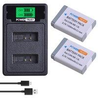2pcs NB 13L NB 13L NB13L Camera Battery+LCD USB Dual Charger with Type C Port for Canon PowerShot G5 X G5X G7 X G7X G9 X G9X.
