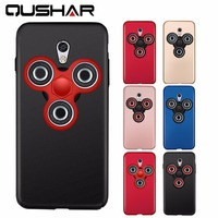 For Meizu M5 Note Fidget Spinner Case Luxury Hard Frosted PC Cover Full Protect Back Cover