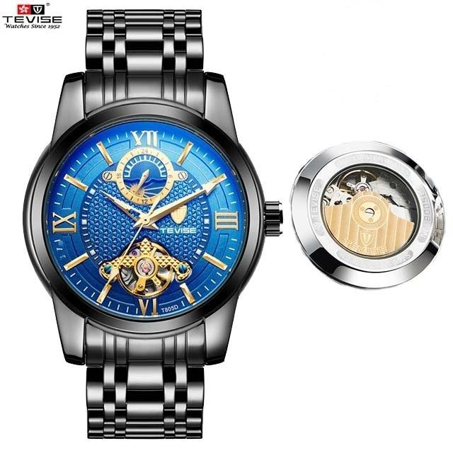 fa215fff4ed Tevise Brand Men Mechanical Watch Automatic Role Date Fashione luxury Clock  Male Reloj Hombre Relogio Masculino