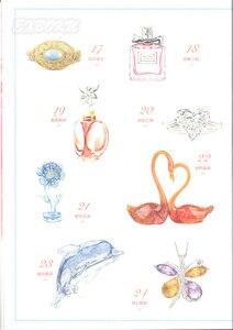 Image 5 - Chiński kolorowy ołówek kryształ biżuteria naszyjnik malarstwo rysunek artystyczny książka