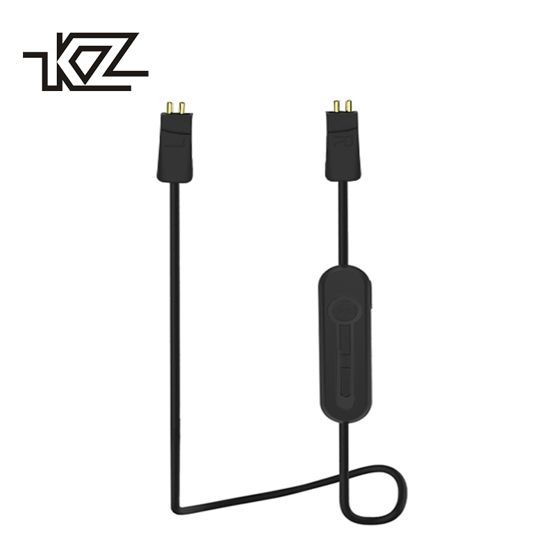 KZ ZS6 Wireless Bluetooth Cable HIFI Earphone 0.78mm 2Pin Cable Dedicated For KZ ZS5/ZS3/ZST/ED12/ES3 KZ Original Bluetooth 4.2