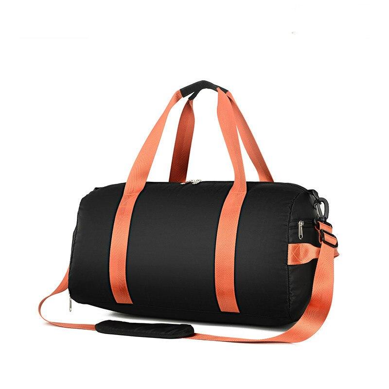 Large Capacity Men Travel Bags Women Duffle Luggage Bag Nylon Portable Folded Handbag Tote Female Weekend Bags Big 2019 Sac