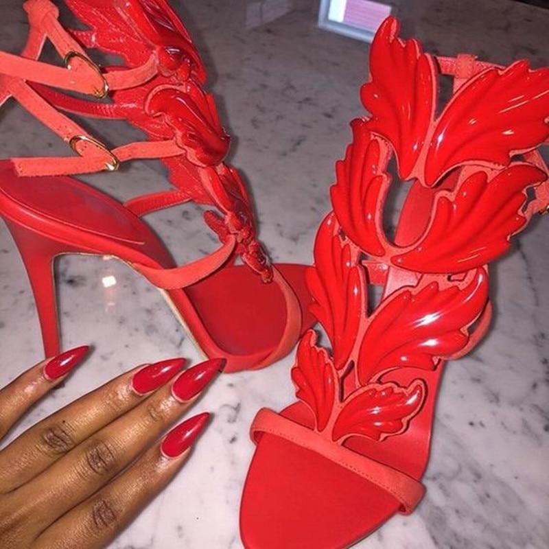 Show Hot forme Vente Boucles Plate Argent Femmes Show Mode Or Pompes as Talons Feuilles As Métallique Sandales Summer qHwFngqvrZ