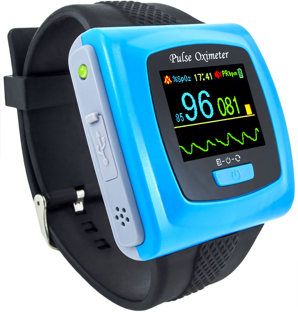 Bluetooth Wireless function Wearable Pulse Oximeter CMS50FW Wrist Pulse Oxygen SPO2 Monitor APP for phone & USB Software for PC