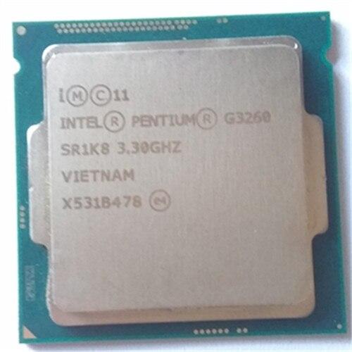 все цены на Intel Pentium Processor G3260 3.3g LGA1150 22 nanometers LGA1150 3M Cache Dual-Core CPU Processor TPD 53W ,have a g3220 sale