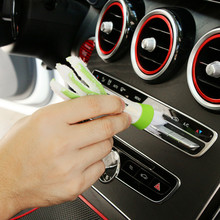Car Clean Brush Accessories Sticker For Mercedes Benz AMG W201 A Class GLA W176 CLK W209 W202 W220 W204 W203 W210 W124 W211 W222 недорого