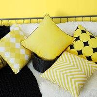 LUCIA Hiện Đại Hình Hình Học Đơn Giản Đệm In Bìa Mềm Nhung Trang Trí Pillowcase Trang Trí Nội Thất Ném Vỏ Gối Cho Sofa
