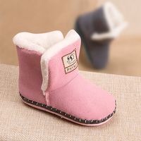 Winter Men And Women Baby Toddler Shoes Warm Cotton Boots Snow Boots 0 1 Year Old
