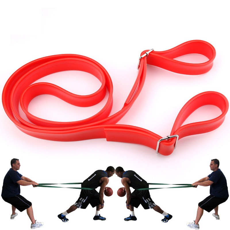 tension resistance bands boxing training with fitness male strength training in basketball. Black Bedroom Furniture Sets. Home Design Ideas