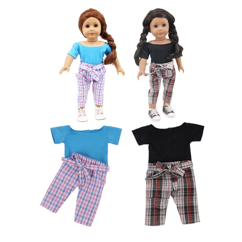 2Pcs 43cm Doll Or 18 Inch  Doll Clothes Underpants Yg