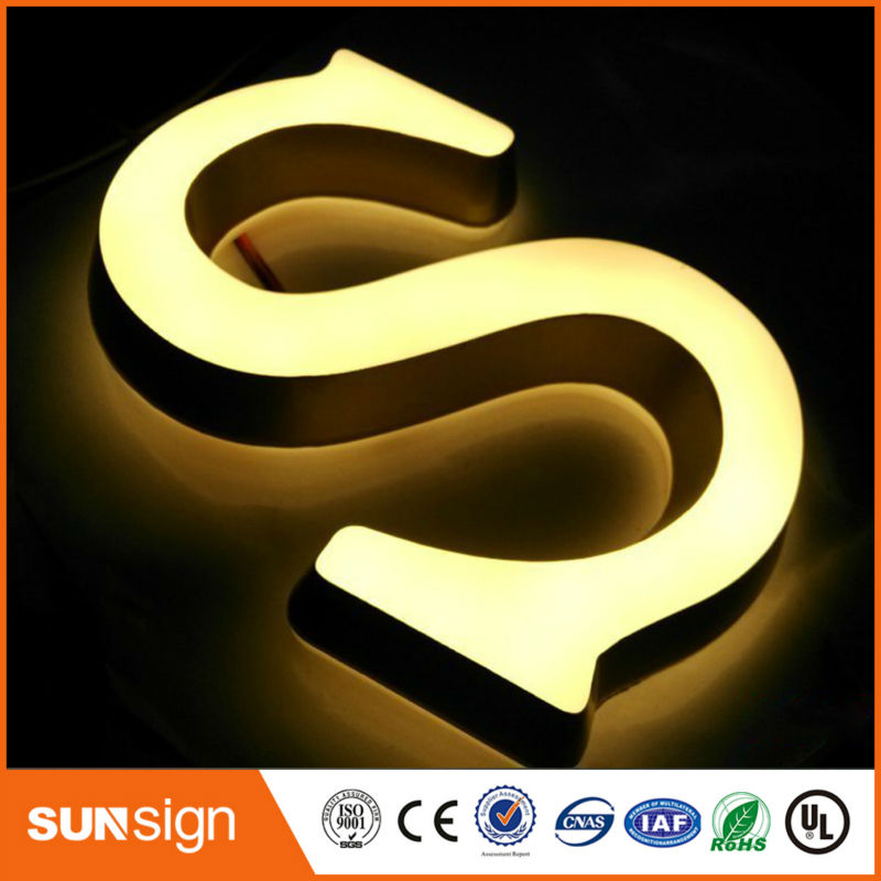Custom Illuminated Sign Letters Led Letters Alphabet
