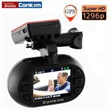 Cheapest prices Conkim Car DVR Camera Mini0903 plus Super HD1296P AmbarellaA7+OV4689 Car Registrator G-sensor GPS Tracker Low-voltage Protection