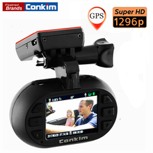 Conkim Car DVR Camera Mini0903 plus Super HD1296P AmbarellaA7+OV4689 Car Registrator G-sensor GPS Tracker Low-voltage Protection
