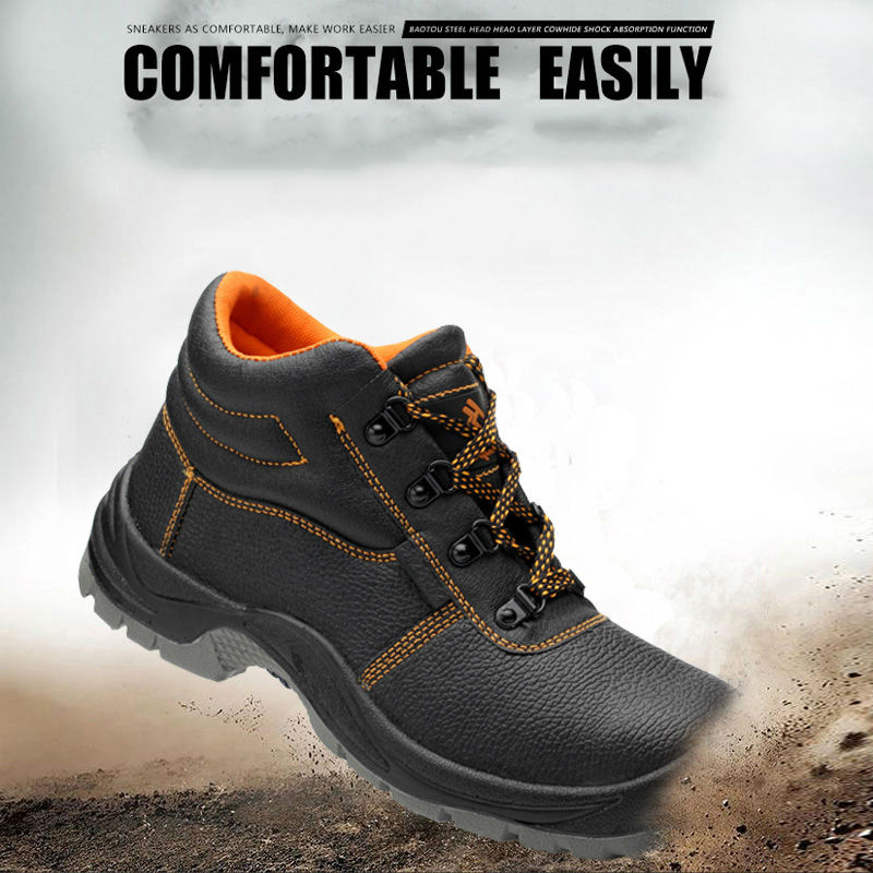 Купить с кэшбэком AC13013 Breathable Anti-Smashing Steel Head Tooling Boots Outdoor Steel Toe Breathable Sneakers Shoe Security Safety Shoes Labor